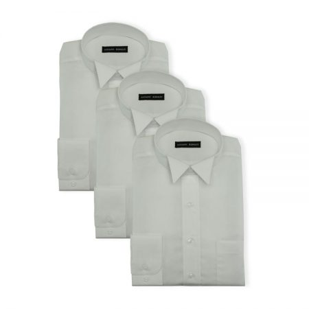 3Pack - Mens superfine cotton court shirts
