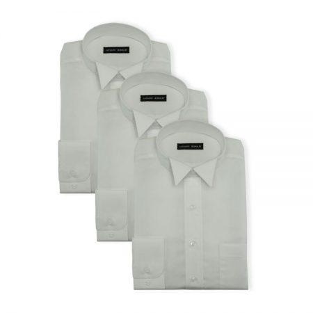 3Pack - Womens superfine cotton court shirta