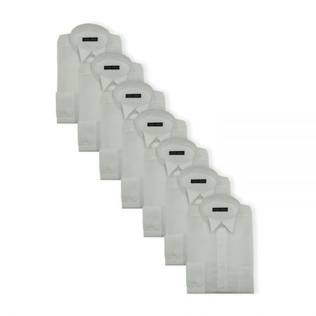 7Pack - Womens easy care court shirts
